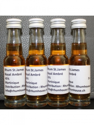 Rhum St. James Royal Ambré Mignonette