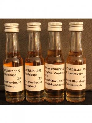 Rhum Courcelles VX 1972, 47%, Mignonette