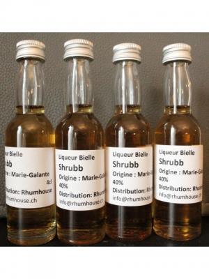 Bielle Liqueur SCHRUBB Mignonette 4 cl
