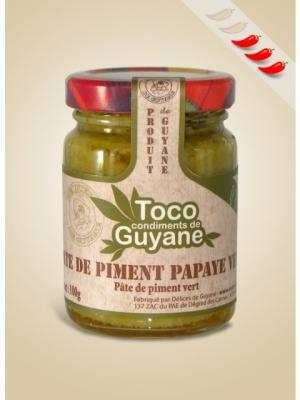 Pate de Piment Papaye verte 100G