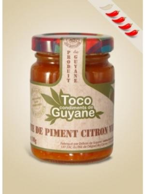 Pate de Piment citron vert 100G