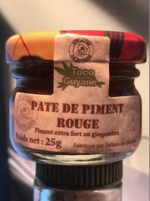 Pate de Piment Rouge 25G