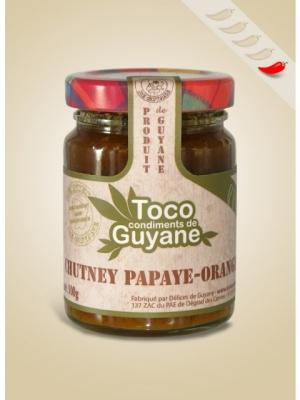 Chutney Papaye-Orange 100 gr