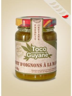 Confit D'Oignon a la Mangue 100 gr