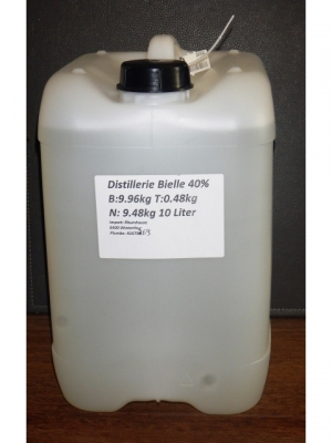 Bielle 10 Liters 40° in bulk