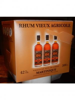 HSE VO cubi, Rhum Agricole AOC Martini..