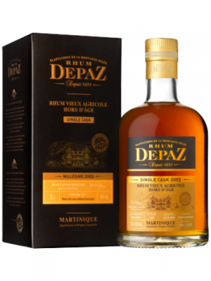 DEPAZ Single Cask 2003 AOC Martinique