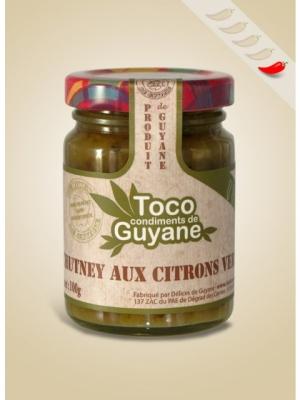 Chutney Citron vert 100 gr